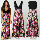 2Styles Womens Maxi Dress Size 8-20 Summer Long Skirt Evening Cocktail Party TOP