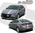Euro Racing Offset Hood Stripe Vinyl Decal Graphic 2013-2016 for Dodge Dart $101.99 USD on eBay