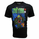 ZOO YORK T SHIRT MOLEMEN ARTIST STEPHEN HALKER DESIGN MENS UK S-XL BLACK