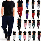 Внешний вид - MEN WOMEN UNISEX SWEATPANTS FLEECE  WORKOUT GYM SPORT PANTS SIZE S-5XL