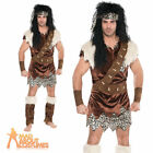 Neanderthal Caveman Costume Prehistoric Mens Fancy Dress Outfit