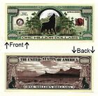 Howling Wolf 1 Million Dollars Bill Novelty Notes 1 5 25 50 100 500 or 1000