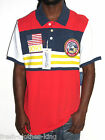 American Rag Polo Shirt New Mens Varsity Ripe Stripe Size XL