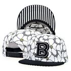 New Unisex B Sign Snapback Hat Hip-Hop KPOP B-BOY Sport Adjustable Baseball Cap