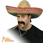 Mexican Sombrero Straw Cowboy Western Hat Fancy Dress Costume Accessory