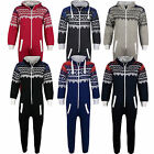 NEW KIDS GIRLS BOYS AZTEC SNOWFLAKE PRINT Onesie ALL IN ONE JUMPSUIT  1-13 Years
