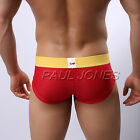 6 Colors Men's Male Breath Holes Enhance POUCH Underwear Briefs Soft Short Pants