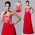 FREE SHIP~~Women Prom Long Formal Evening Party Cocktail Bridal Homecoming Dress