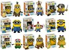DESPICABLE ME 2 -  POP FIGURE 7 DESIGNS TO CHOOSE FROM - FUNKO GRU AGNES MINION