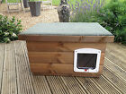 High Quality medium Wooden Dog/Cat Kennel/ Shelter ~ Dog House box outdoor