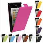 Genuine leather Card Case Cover Protector Skin For LG OPTIMUS L7 P705 P700 P705G