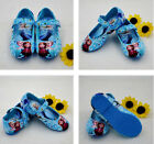Frozen Elsa Anna Princess Leather Shoes Girls Kids Baby Dance Shoes Size 7-12