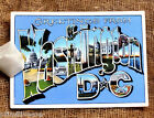 Hang Tags GREETINGS FROM WASHINGTON DC POSTCARD TAGS or MAGNET #G 27  Gift Tags