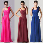 Long Chiffon Evening Formal Party Ball Gown Prom Bridesmaid Dress Stock SZ 6-20