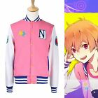 Free! Iwatobi Swim Club NagisaHazuki Baseball Jacket Cosplay Costume