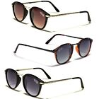 Round Frame Retro 80's Vintage Men Women Sunglasses Black Brown Tortoise Glasses