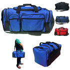 "Внешний вид - 20"" Large Heavy Duty Strong Duffle Bags Travel Sports School Gym Carry Luggage"