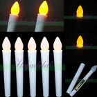 NEW FLAMELESS FLICKERING LED TEA LIGHT CANDLES BATTERY OPERATED TEALIGHTS DECOR