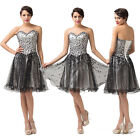 Graduation Beads Short Womens Sexy 2014 New Gowns Cocktail Evening Prom Dresses