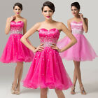 Hot Formal Swing Party Bridesmaid Dress Short Evening Banquet Dancing Prom Dress