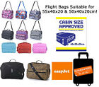 Flight Bags Hand Luggage 50x40x20 Easyjet Ryanair Cabin Approved Bag