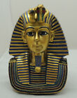 Egyptian Pharaoh Antique Head Statue , King Tut  And Nefertiti ,Collectable