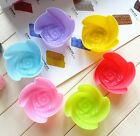 DIY Silicone Small Rose Flower Cake Mold Mould Cookie Jelly Chocolate Ice Making