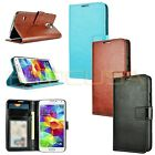 Kozmicc Samsung Galaxy S5 i9600 Luxury Leather Stand ID Card Wallet Case Cover