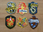 HARRY POTTER STYLE HOUSE EMBROIDERED BADGES IRON ON SEW ON