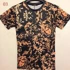 CHIC Design Stylish Men's Leisure Style 3D Cotton Short Sleeve T-Shirts UK FO