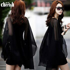 HOT Sexy Women Black Casual Summer Dress Sundress Cocktail Evening Party Dresses
