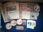 VINTAGE PAPERS & COLLECTABLES 1930,40,50 & 60's cards, papers, chose from menu