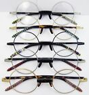 45mm Round Vintage Eyeglass Frame Spectacles OLD SCHOOL Antique Collections