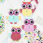35mm 100 Or 50 Pcs Mix Owl Pattern Wooden Buttons Fit Sewing Or Scrapbook Decor