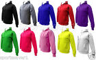 Mens Womens Plain Hooded Tops Hoodie Sweater Jumpers Sizes S-XL