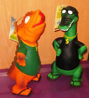 NEW Latex SQUEAKY Dog Toy - T-REX  or GATOR Dinosaur 36 cm / 14.5""