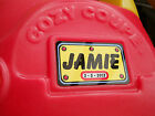 personalised METAL numberplate for little tikes cozy coupe childrens car maybe!