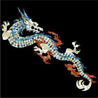 Fire Dragon (White Pearl) Inlay Stickers Decals For Guitar Bass