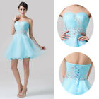 Chic Women Formal Homecoming Prom Gowns Cocktail Bridesmaid Party Dress 2 4 6 8+
