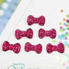 100 Pcs Bowknot Bows Flatback Resin Beads Dotted Rhinestone 13*8mm Many Colors
