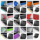 "Rubberized Hard Case Key Cover Plugs For Macbook Pro 13""15""/Air 11""13""inch(4in1)"