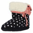 Girls Clarks Slipper Boots Sleep Walk