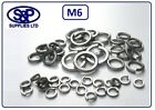 M6 - 6MM A2 STAINLESS STEEL SPRING WASHER DIN7980 GRADE 304 A2 ST/STEEL ST/ST M6
