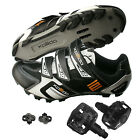 XPEDO Mountain Bike Bicycle Cycling Shoes Wellgo WPD-823 Pedals & Cleats