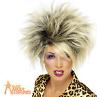 Wild Girl Blonde Wig 80s Tina Turner Ladies Fancy Dress Costume Accessory New