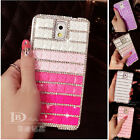 Gradient Bling Diamond Case Cover For Iphone 4s 5s Samsung Note 3 i9300 i9500 S5