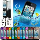 Waterproof Shockproof Dirt Snow Proof Case Cover for iPhone 4 4S 4GS +2x Adapter
