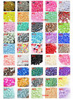 USA Seller -- 800 pcs Mixed Sizes Flatback Pearl Cabochons ( 45 colors choose )