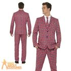 Mens Stag Party Stand Out Suits Funny Comic Fancy Dress Costume New Designs