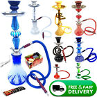 Big Medium Small Shishas Smoking Pipe Shisha Puffs Sheesha Hookah GOOD QUALITY <br/> *CHOOSE YOUR FLAVOUR* FAKHER*SOEX*AL PEN*E-* FULL SET*